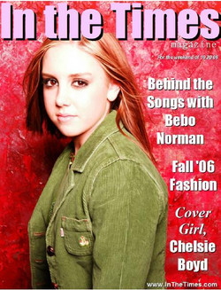 """Chelsie in """"In the Times"""" Magazine"""