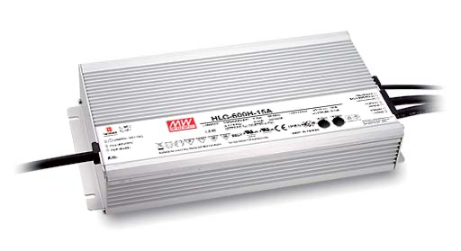 TiGHT POWER 600W, IP67 24V Powered by MeanWell