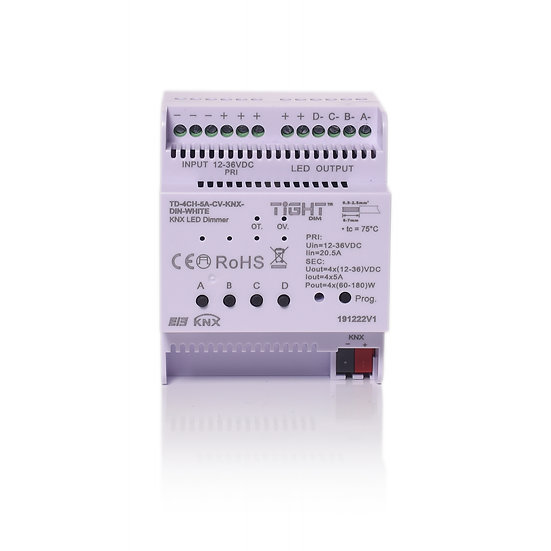 KNX 4CH DIM DIN Single color CV