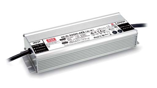 TiGHT POWER 320W, IP67, 24V Powered by MeanWell