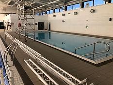 Installation of Aqua Sensory Lights Scarborough Sports Village - Small Pool Lights