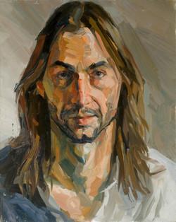 Ian, huile sur toile,92x73cm 2003 (Medium)
