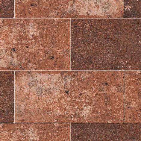 Red 5x10 Brickstone