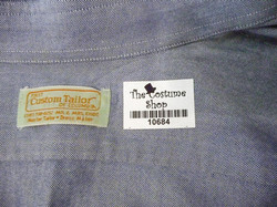 Iron-on tag in shirt