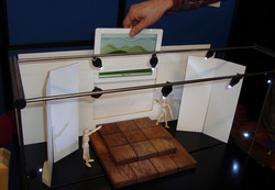 StageInABox -inserting iPad
