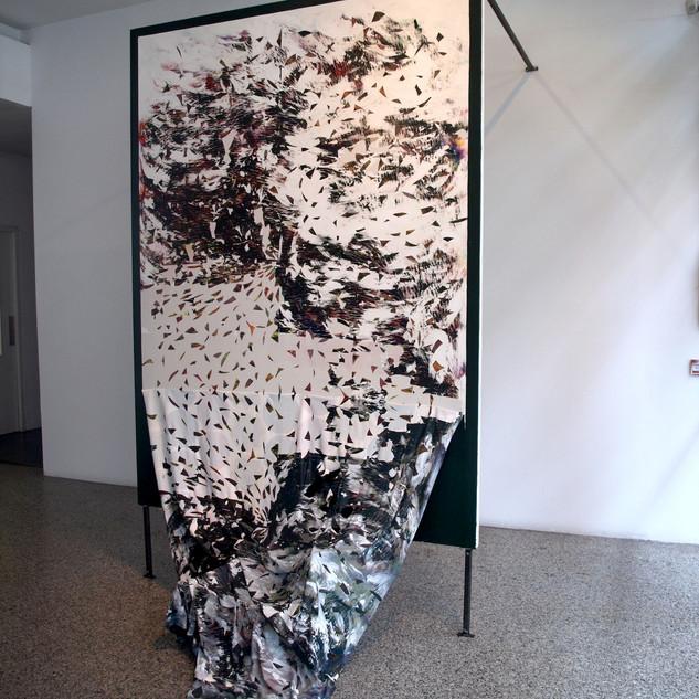 Acrylic on canvas, 250x200x40x150cm 2015