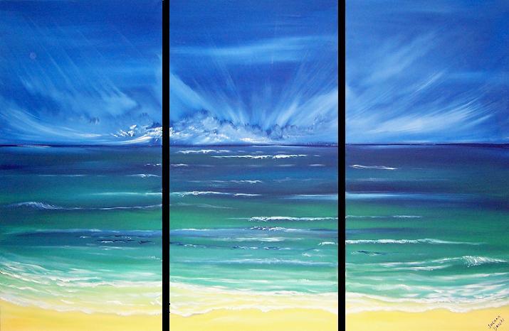 heavenly ocean sky