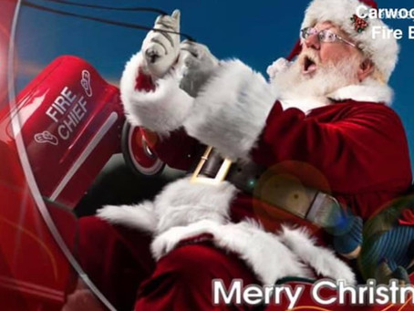 Santa is coming to town - Carwoola RFS