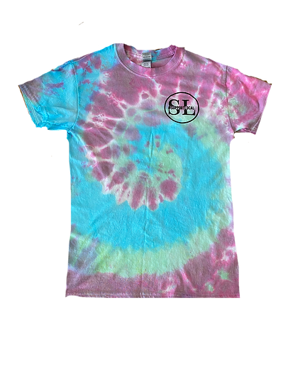Tie-Dye Support Local T-Shirt