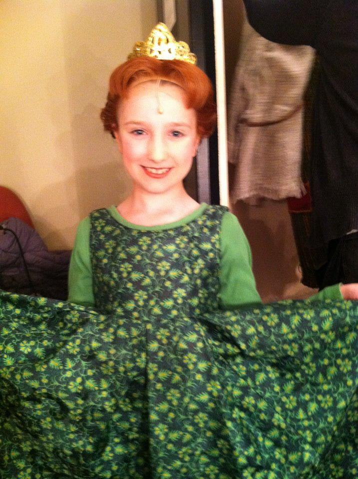 Nadia in Shrek on tour