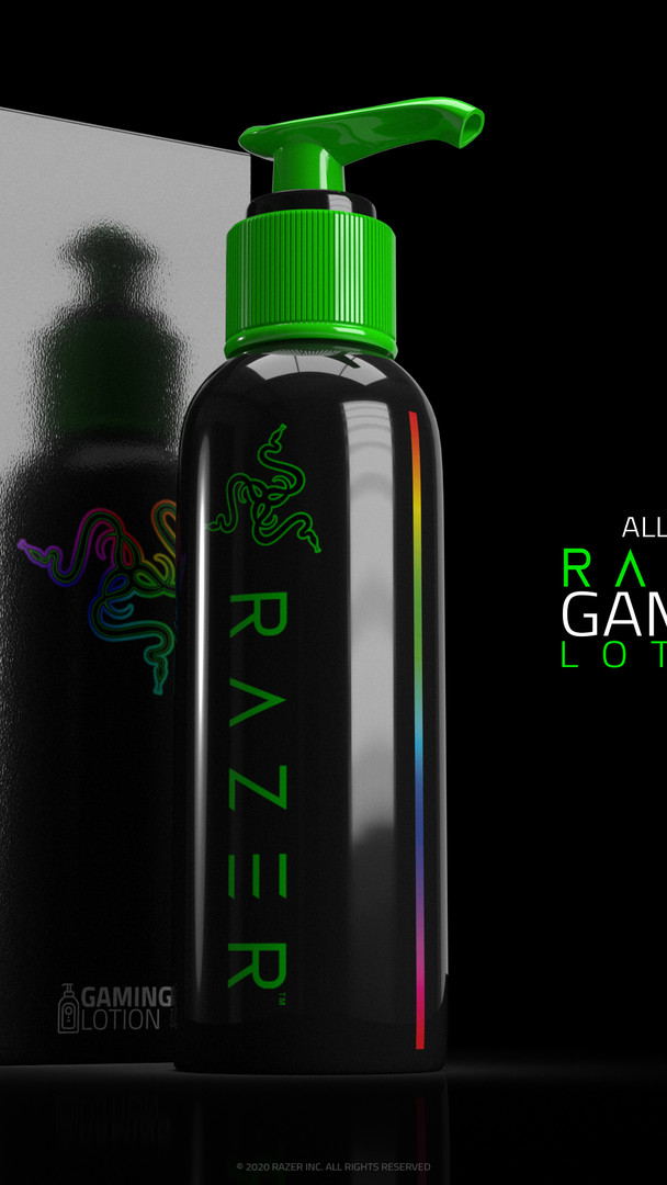 RAZER GAMING LOTION