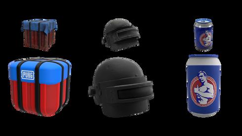 care package . lvl 3 helmet . boost