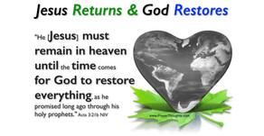 2. Ephesians 2:10 - Restoration. Part 2 of a 5 Part Series.