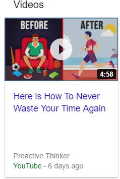 How to never waste your time again.