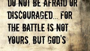 It Is Not My Battle