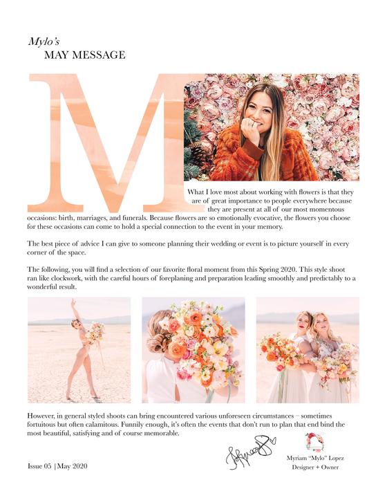 Issue 5 | May 2020 | xoxo Mylo