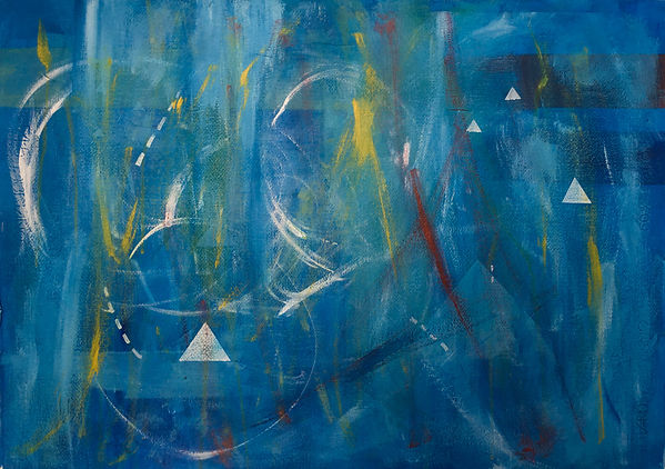 abstract painting music synesthesia