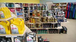 Prodejna oleje i maziva Hlinsko