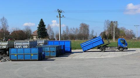 Kontejnery pro nakládku odpadního materiálu