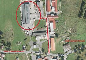 Areál společnosti SAVE CZ, přesné umístění