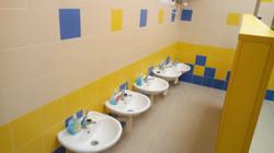 Umývárna školka