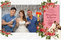 sg photo booth, customized template