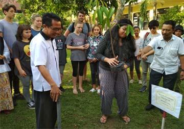 Kunjungan Green School Bali ke SMK Negeri 5 Jember