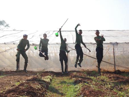 Pemanfaatan Pompa Hidram Untuk Pengairan Lahan Pertanian Sebagai Pembelajaran Siswa
