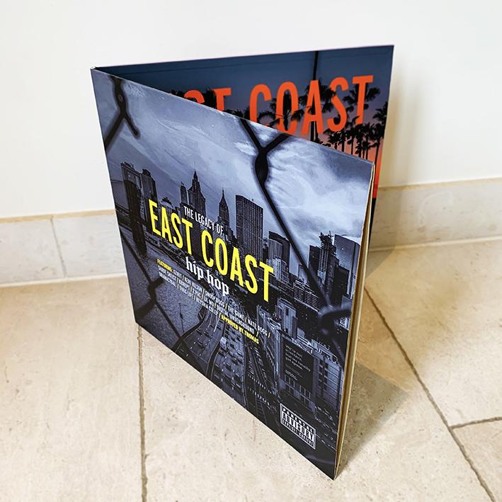 Dubbel LP cover design
