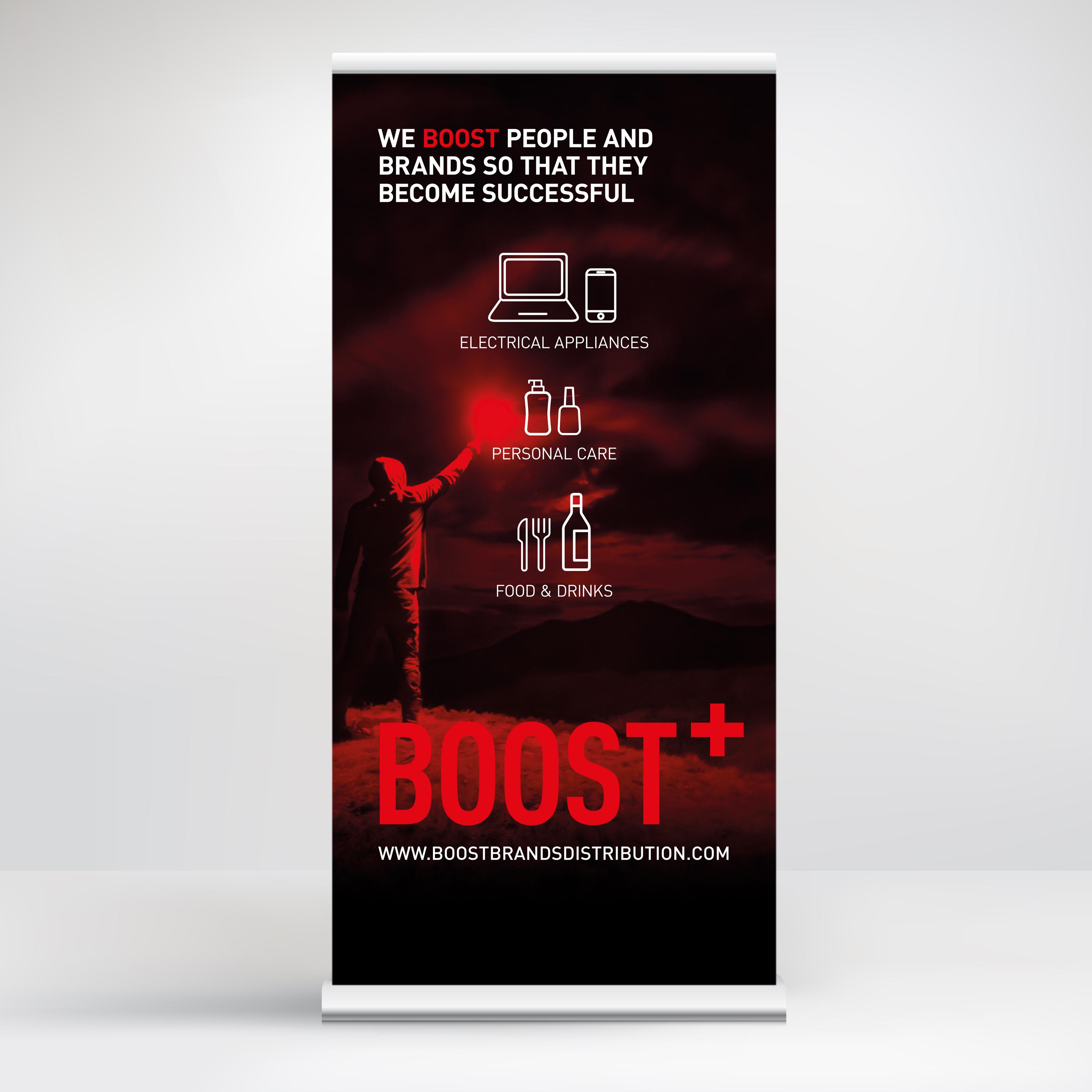 Boost+ brands distribution