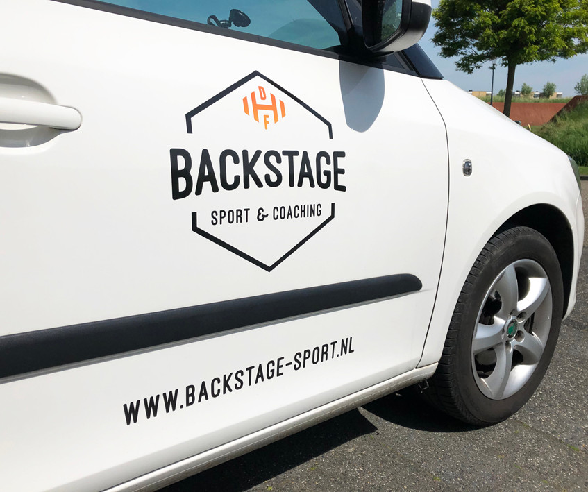 backstage sport en coaching auto