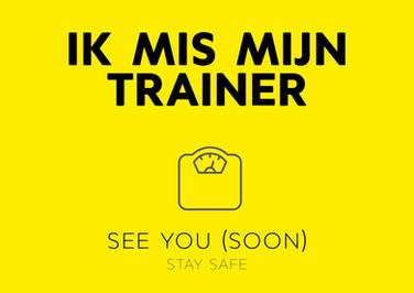 ecard ik mis mijn trainer