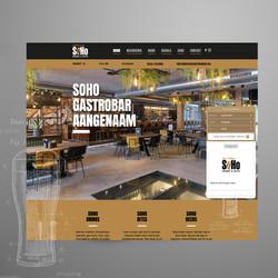 Soho Gastrobar schagen website ontwerp
