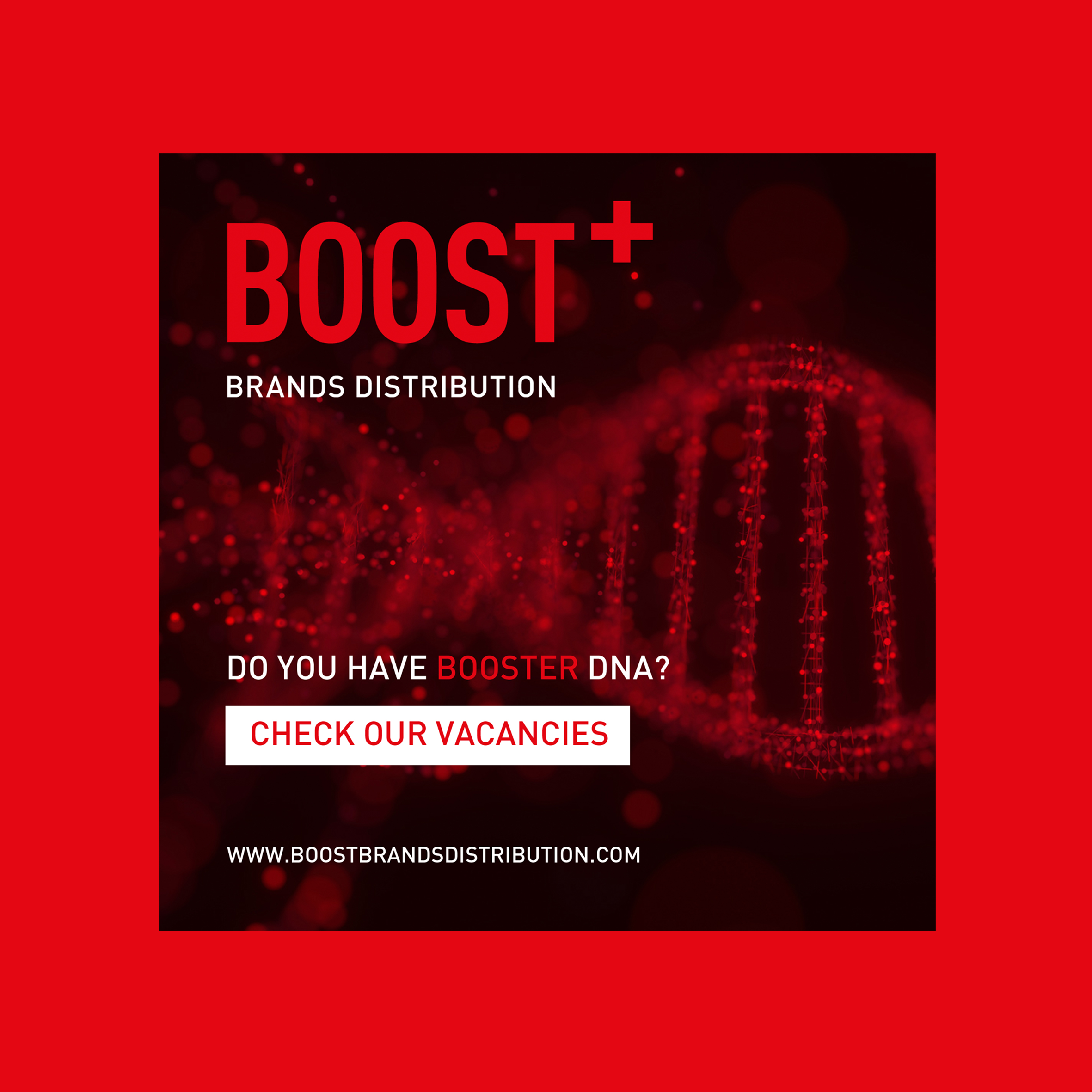 Boost+ brands distribution