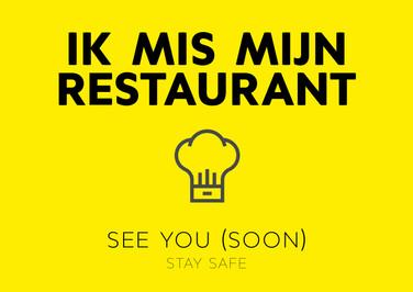 ecard ik mis mijn restaurant