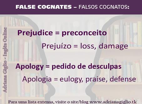 FALSOS COGNATOS