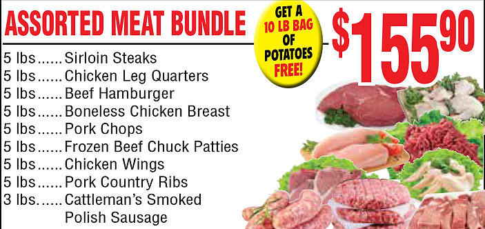 Assorted Meat Bundle