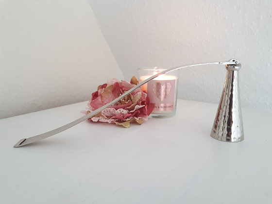 Polished Nickel Candle Snuffer