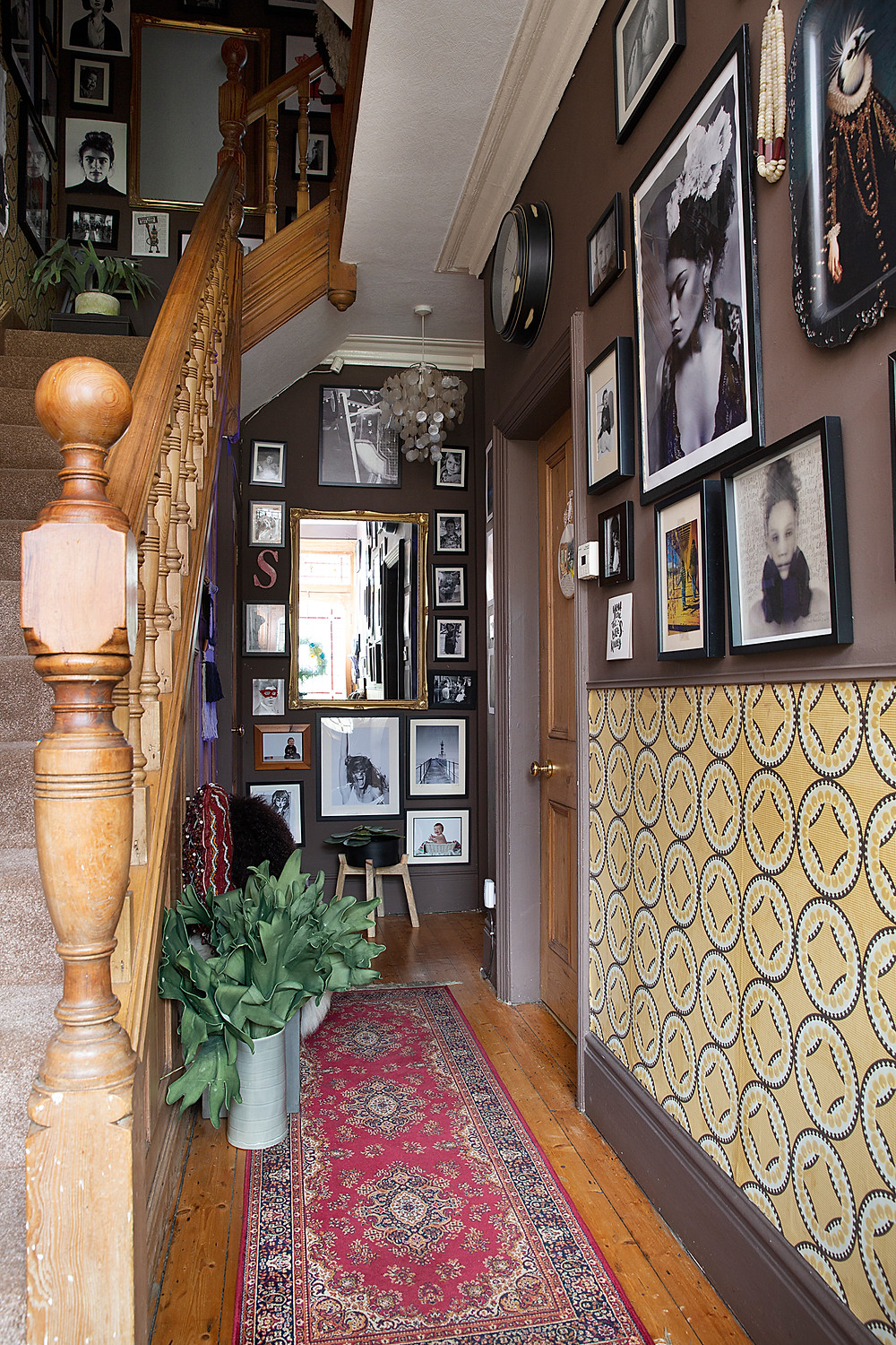 Wall Art Gallery Staircase