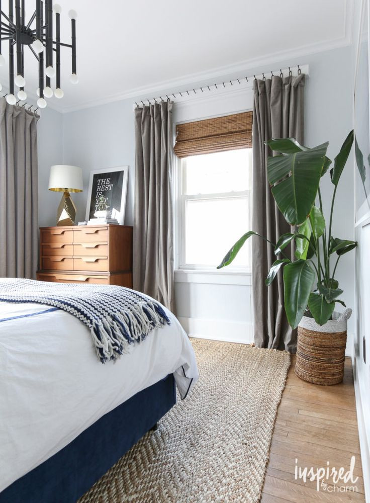 Industrial Style Curtains on Hooks