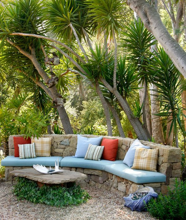 Outdoor seating and cushions