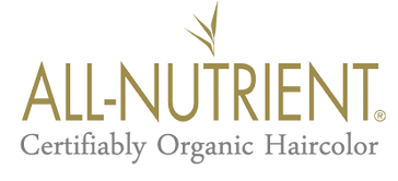 all nutrient certifiably organic haircolor logo