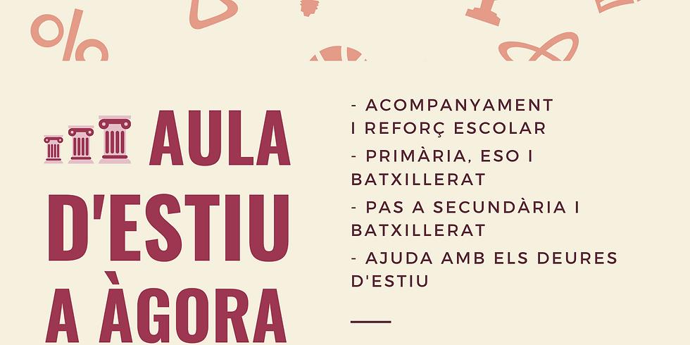 AULA D'ESTIU ÀGORA