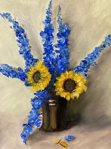 10. Delphiniums & Sunflowers2.jpg