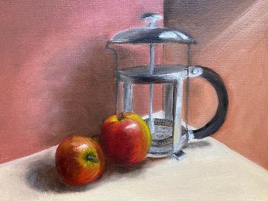 Coffee pot & apples.jpeg