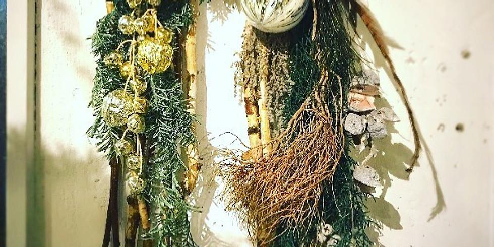11月:クリスマスの壁飾り