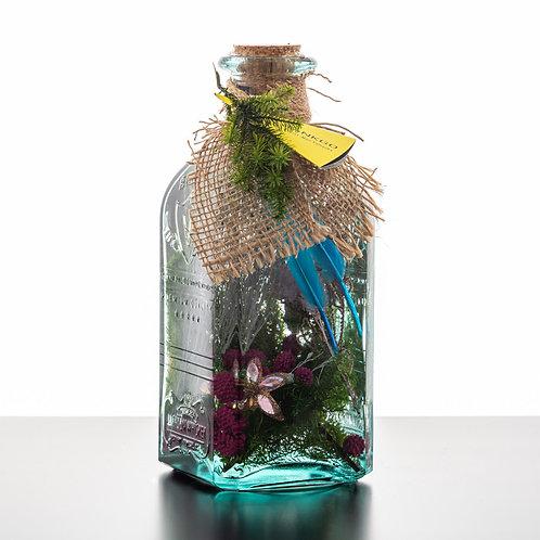 GINKGOスタイルクリスマスハーバリウムレモネードボトル