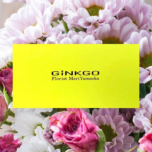 山岡セレクトの花活ギフトカード(5000円)