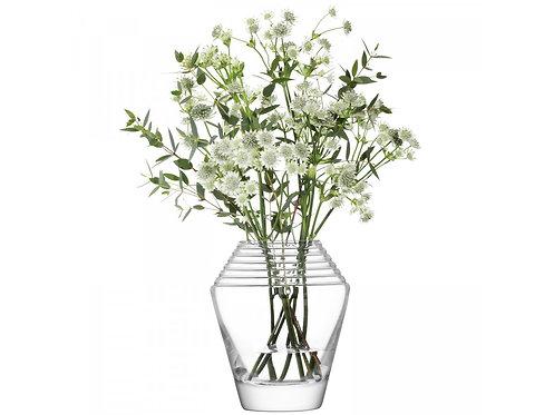 LSA(エルエスエー) フラワーベース(花器) Frieze Vase Clear / Cut 商品番号 LFF02 G1481-18-775