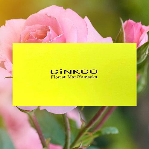 山岡セレクトの花活ギフトカード(10000円)